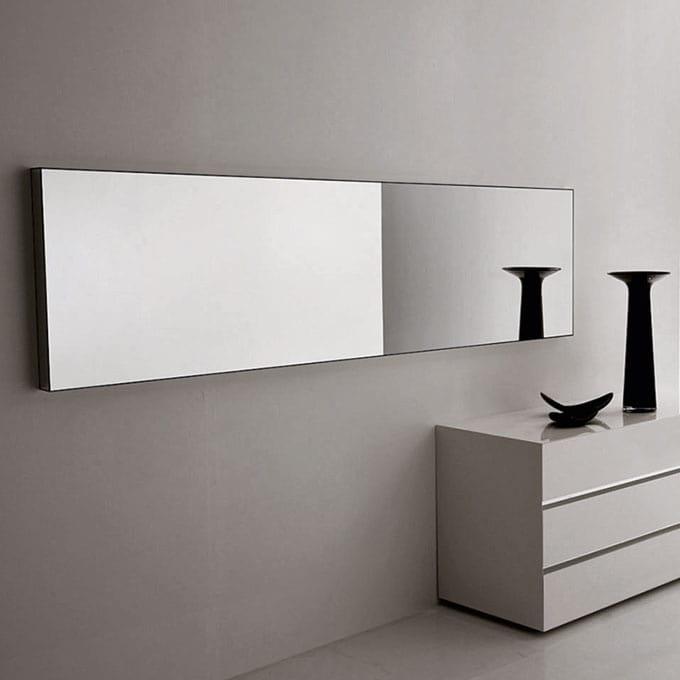 Specchio dalla linee essenziale in varie misure idfdesign - Specchi bagno design ...