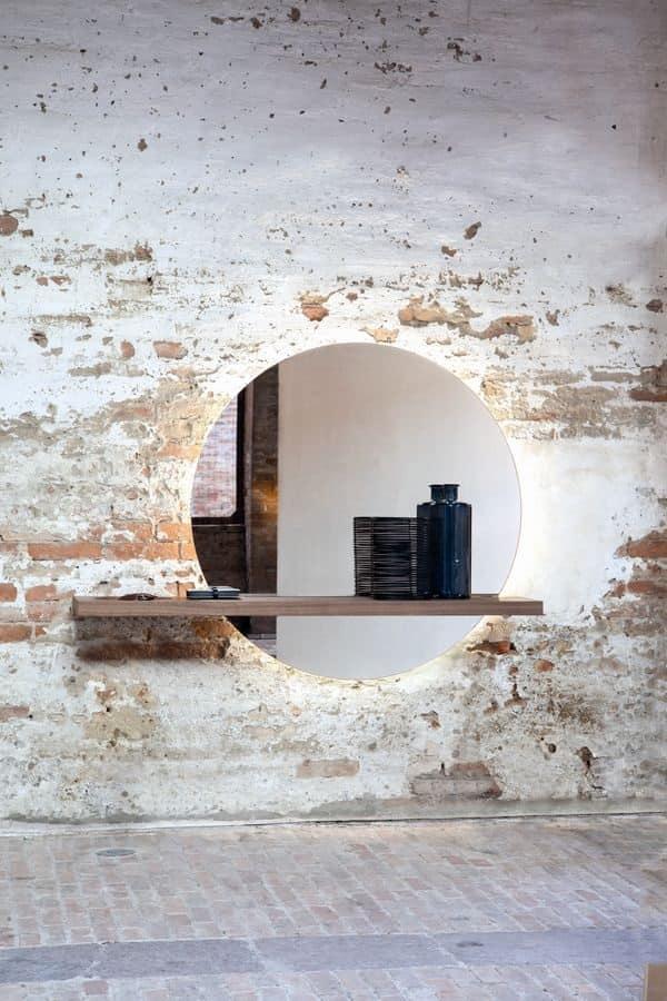 Specchiera con mensola svuotatasche per l 39 ingresso - Specchi per casa ...