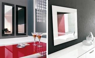 Specchio da parete, varie finiture per la serigrafia  IDFdesign