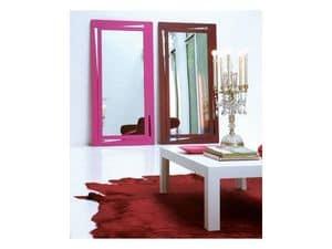Vanessa, Specchio rettangolare con cornice laccata