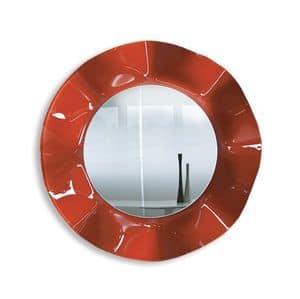 Immagine di Wave, specchio da cornice