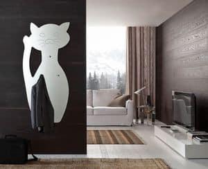 k 191 fufi, Specchio moderno a forma di gatto
