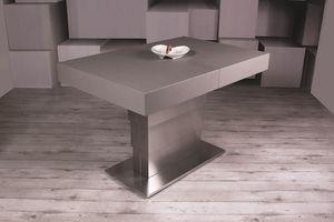 Ares Fold, Tavolo da pranzo regolabile in altezza e allungabile
