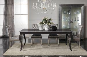 Art. 2172L, Elegante tavolo allungabile in legno