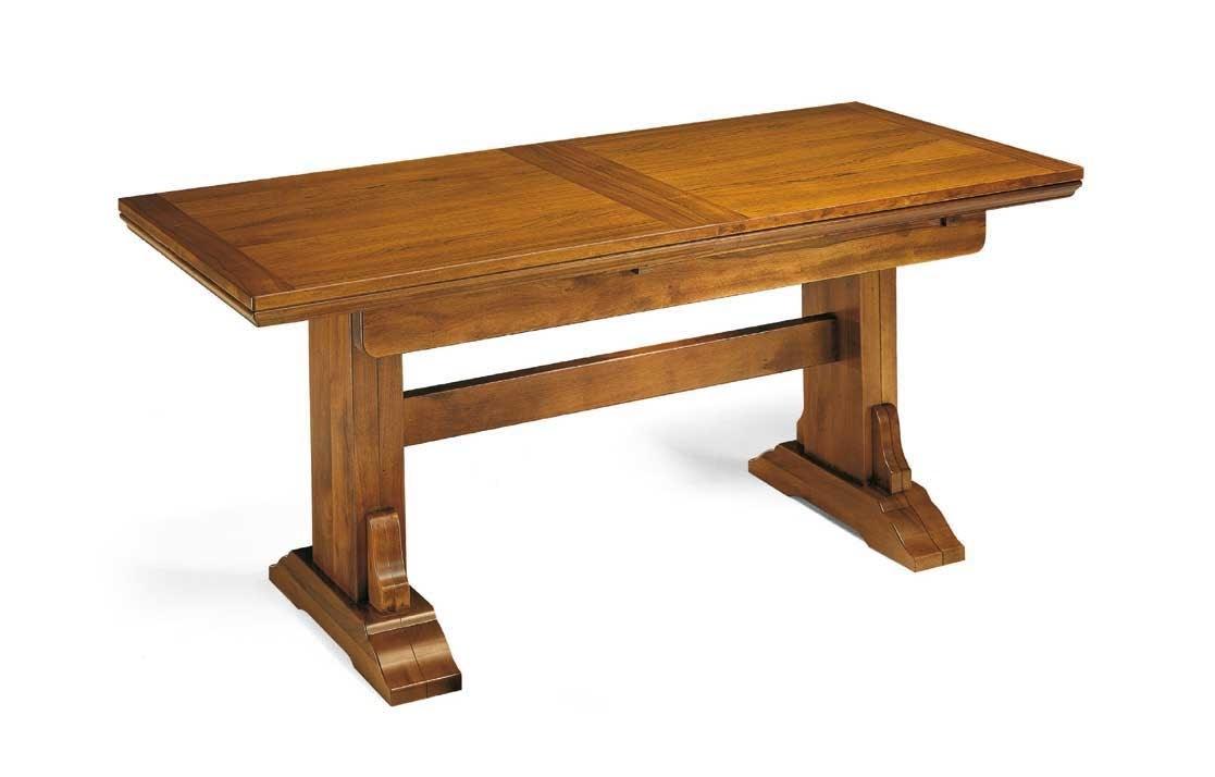 Art. 50, Tavolo con allunghe, in legno