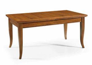 Art. 55, Tavolo in legno con piano allungabile