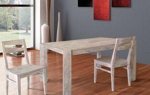 Art. 654, Tavolo in legno con due allunghe interne