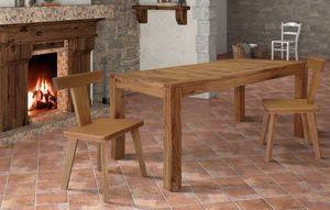 Art. 657, Tavolo in legno, con piano allungabile