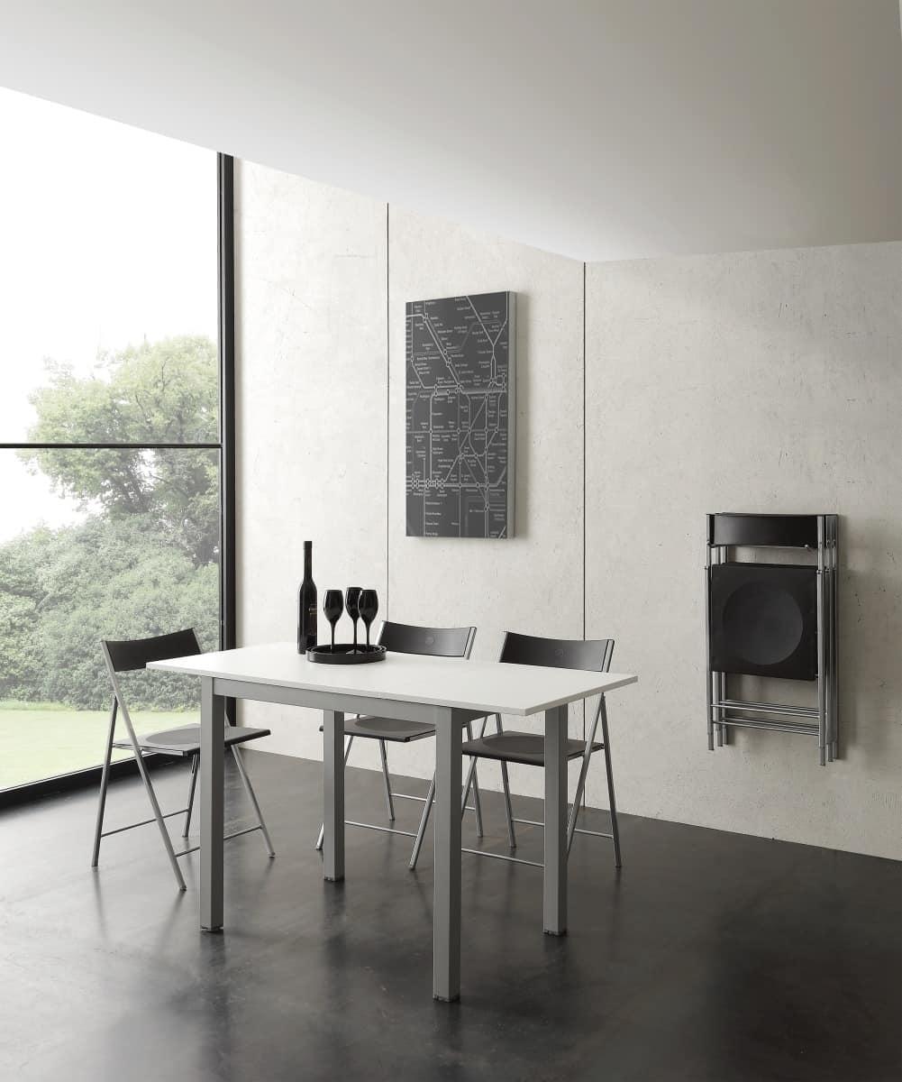 Tavolo allungabile di piccole dimensioni idfdesign for Tavoli moderni design allungabili