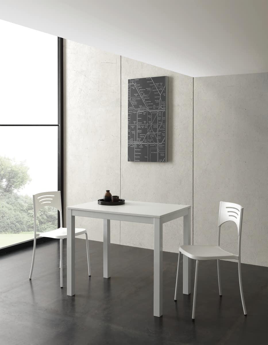Tavolo allungabile di piccole dimensioni idfdesign for Tavoli allungabili di design
