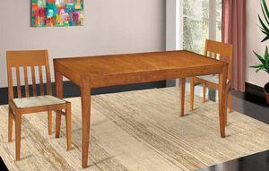 Art. 670, Tavolo allungabile in legno