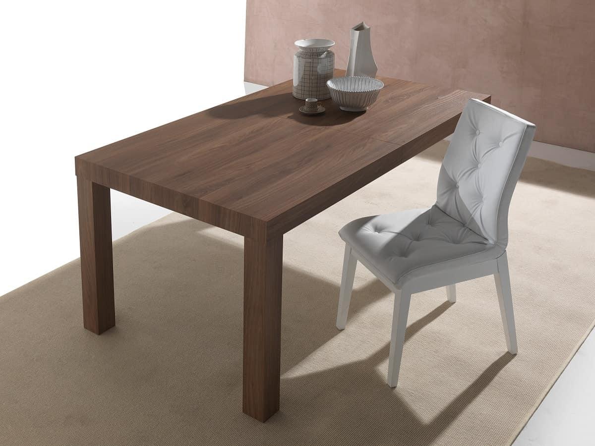 Tavolo da pranzo allungabile fino a 12 posti idfdesign for Tavoli contemporaneo design