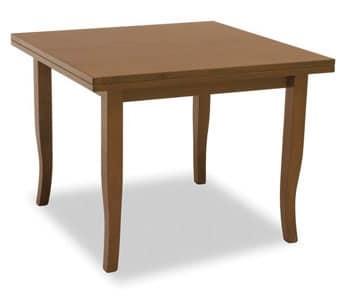 Tavolo allungabile in legno arte povera - Tavoli allungabili in legno arte povera ...