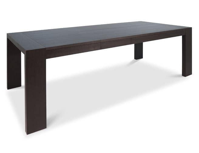 Tavolo Soggiorno Allungabile Legno ~ Idee per il design della casa