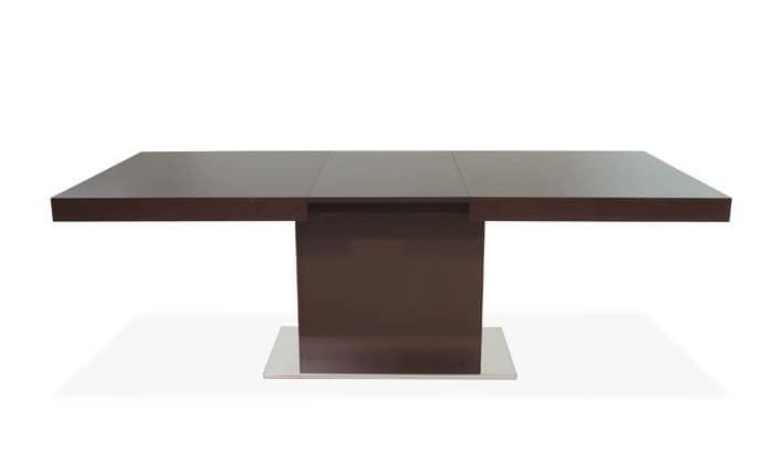 Tavolo allungabile in legno per sala da pranzo idfdesign - Tavolo barocco moderno ...
