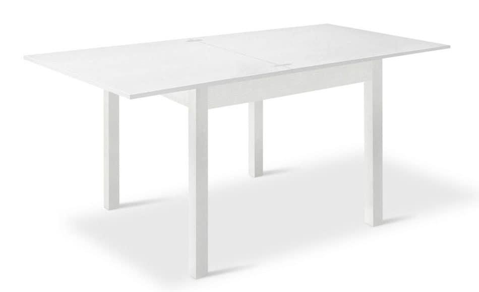 Tavoli quadrati allungabili 80x80 design casa creativa e - Tavoli allungabili a libro ...