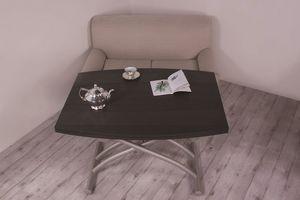 Carronde, Tavolino allungabile con prolunghe scorrevoli