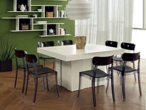 Immagine di Cube, tavoli estensibili in legno