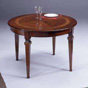 Arredo tavoli classico ed in stile di lusso rotondi idfdesign - Giovanni visentin mobili ...