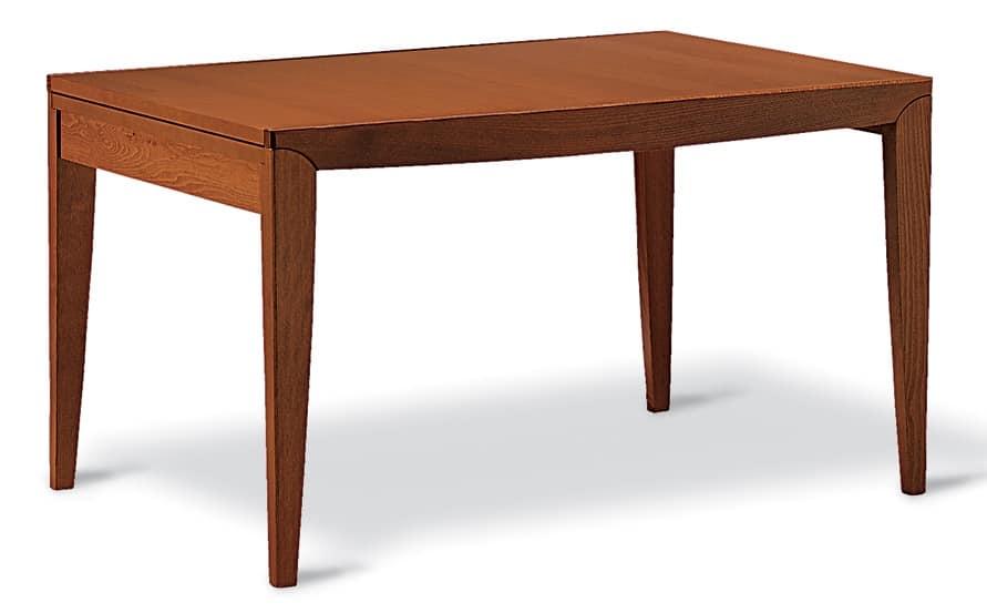 Tavolo allungabile in faggio per cucine e salotti moderni for Cucine e salotti moderni