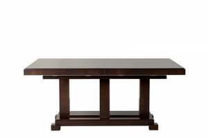 Downtown tavolo rettangolare, Tavolo allungabile, in legno