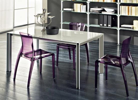 Tavoli legno con prolunga klass 160 for Tavolo 70x110 allungabile