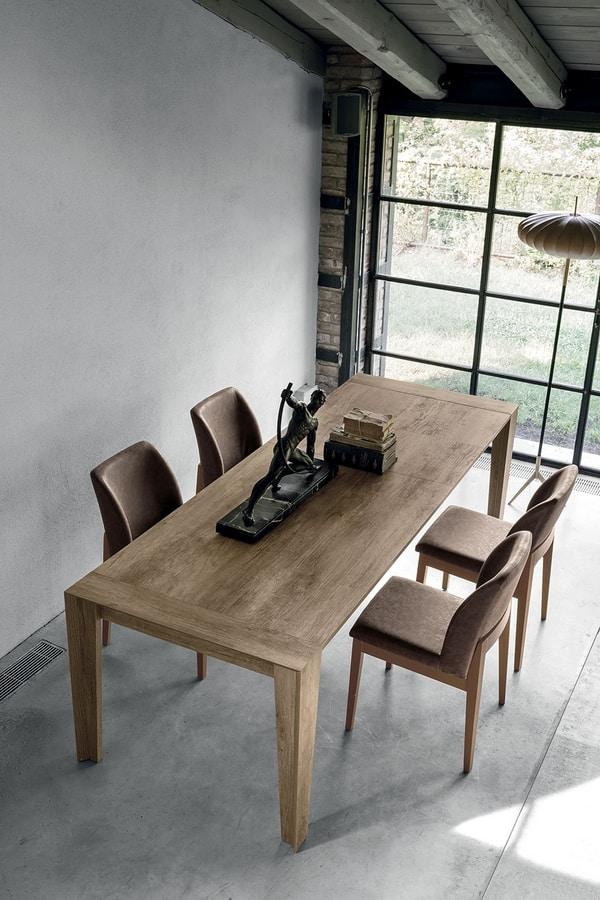 Tavolo allungabile in legno | IDFdesign
