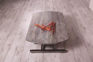 Redondo, Tavolino trasformabile in forma e dimensioni