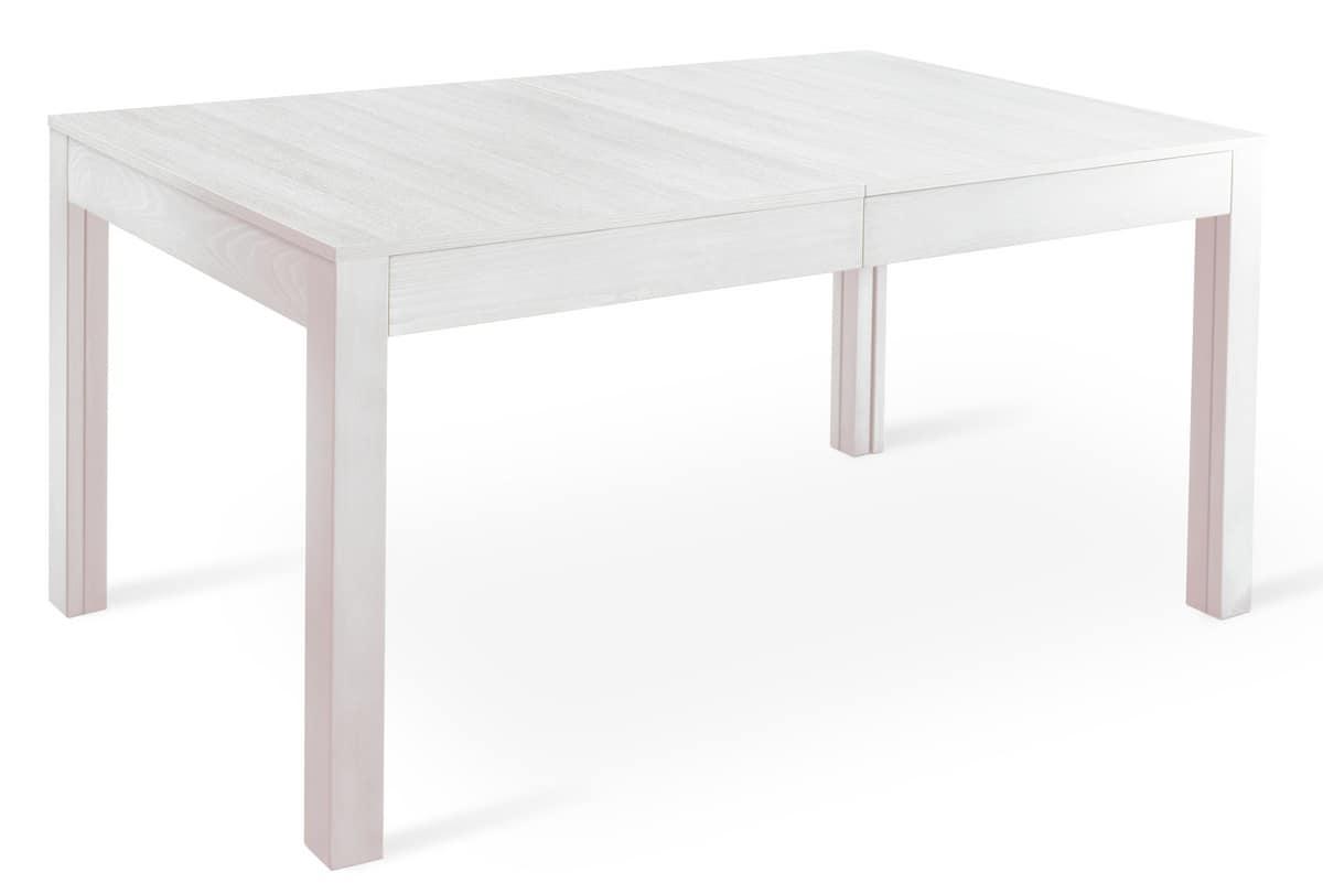 Tavolo rettangolare allungabile per ristoranti e mense for Tavoli soggiorno allungabili design