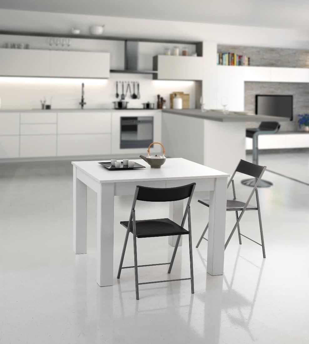 Tavoli soggiorno allungabili design idee per il design for Tavoli allungabili