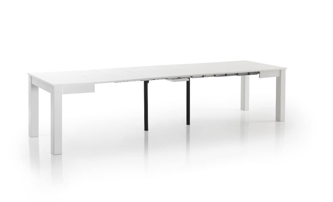 Tavoli Soggiorno Allungabili Legno : Tavoli allungabili design moderno ...
