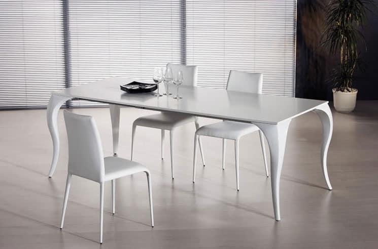 tavolo da pranzo allungabile varie versioni idfdesign