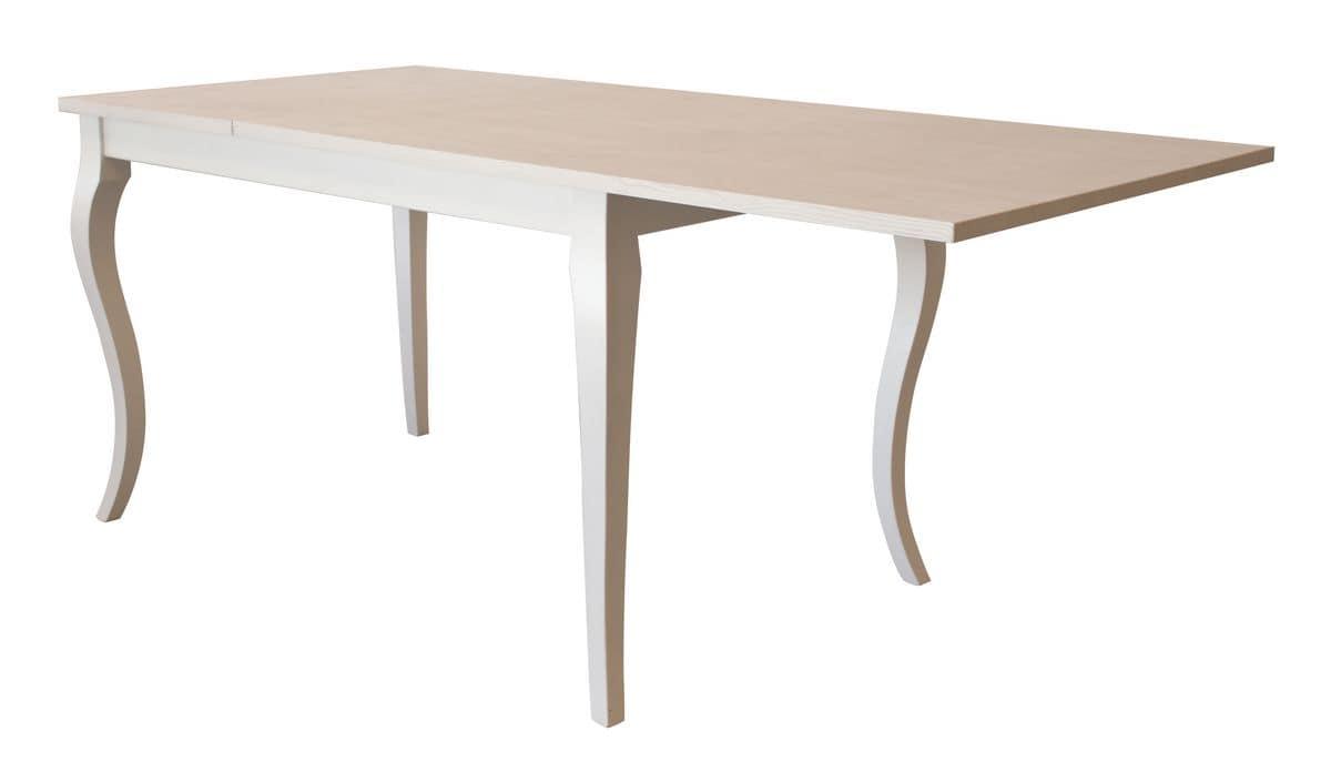 Tavolo allungabile in legno per ambienti conctract for Tavoli allungabili
