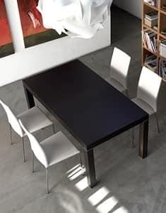 Tavolo legno con allunga - Torino