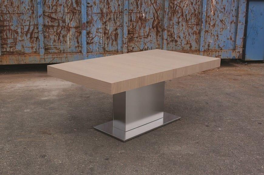 Tavolo da pranzo allungabile di grandi dimensioni idfdesign - Dimensioni tavolo da pranzo ...