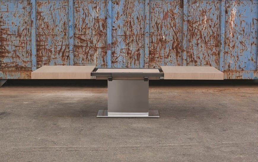 Tavoli Da Pranzo Grandi Dimensioni.Tavolo Da Pranzo Allungabile Di Grandi Dimensioni Idfdesign