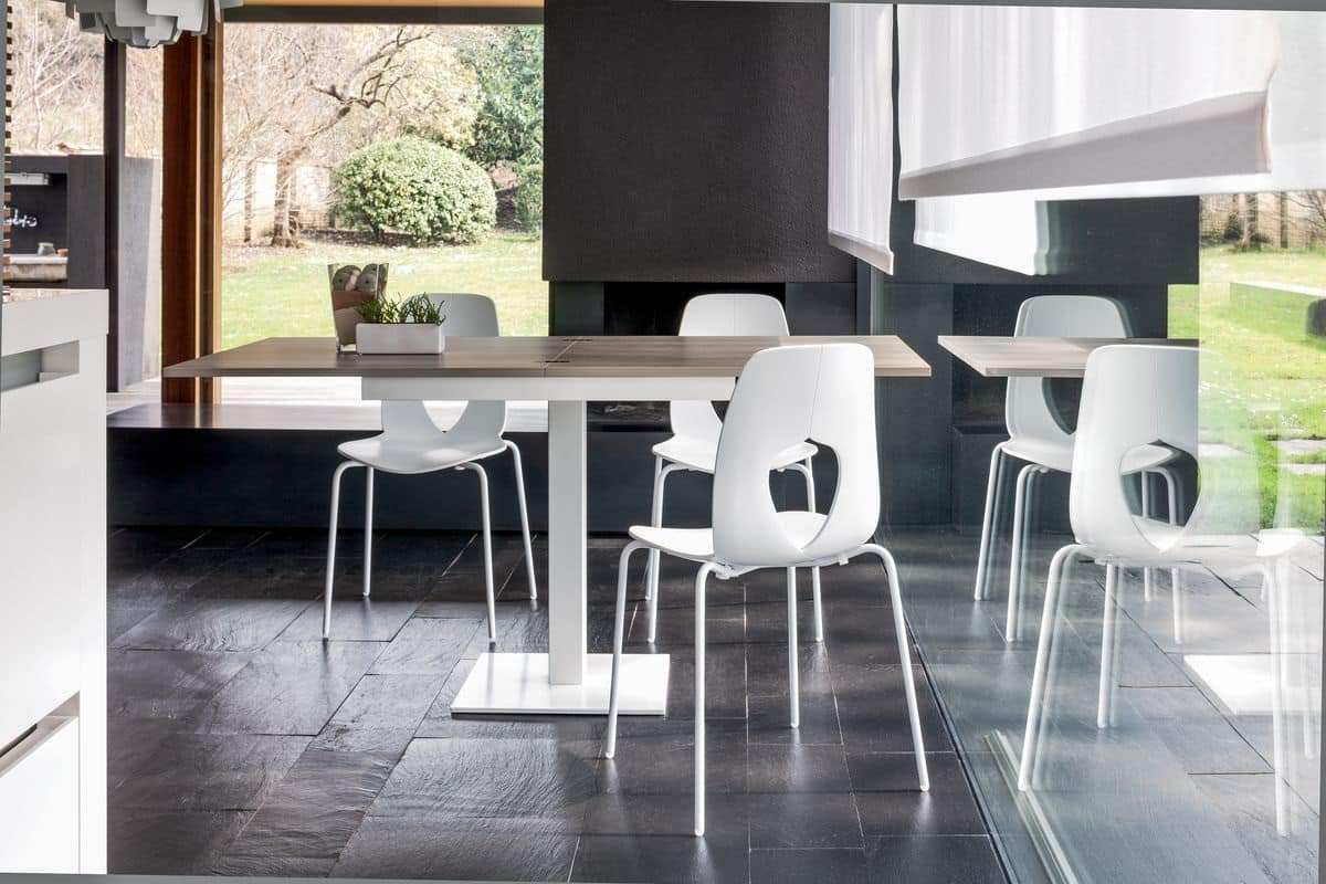 tavoli rotondo allungabili in plexiglass : ... rotondo. Soggiorno con tavolo rotondo. Tavolo soggiorno tondo