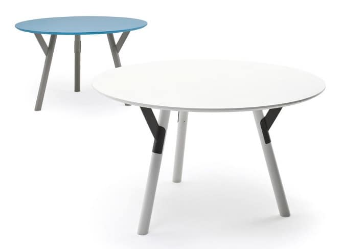 Tavolo allungabile in acciaio varie finiture per esterno - Tavoli allungabili per esterno ...