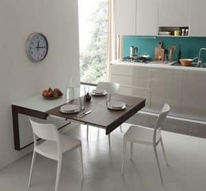 A106 daisy tavolo, Tavolo moderno ideale per appartamenti
