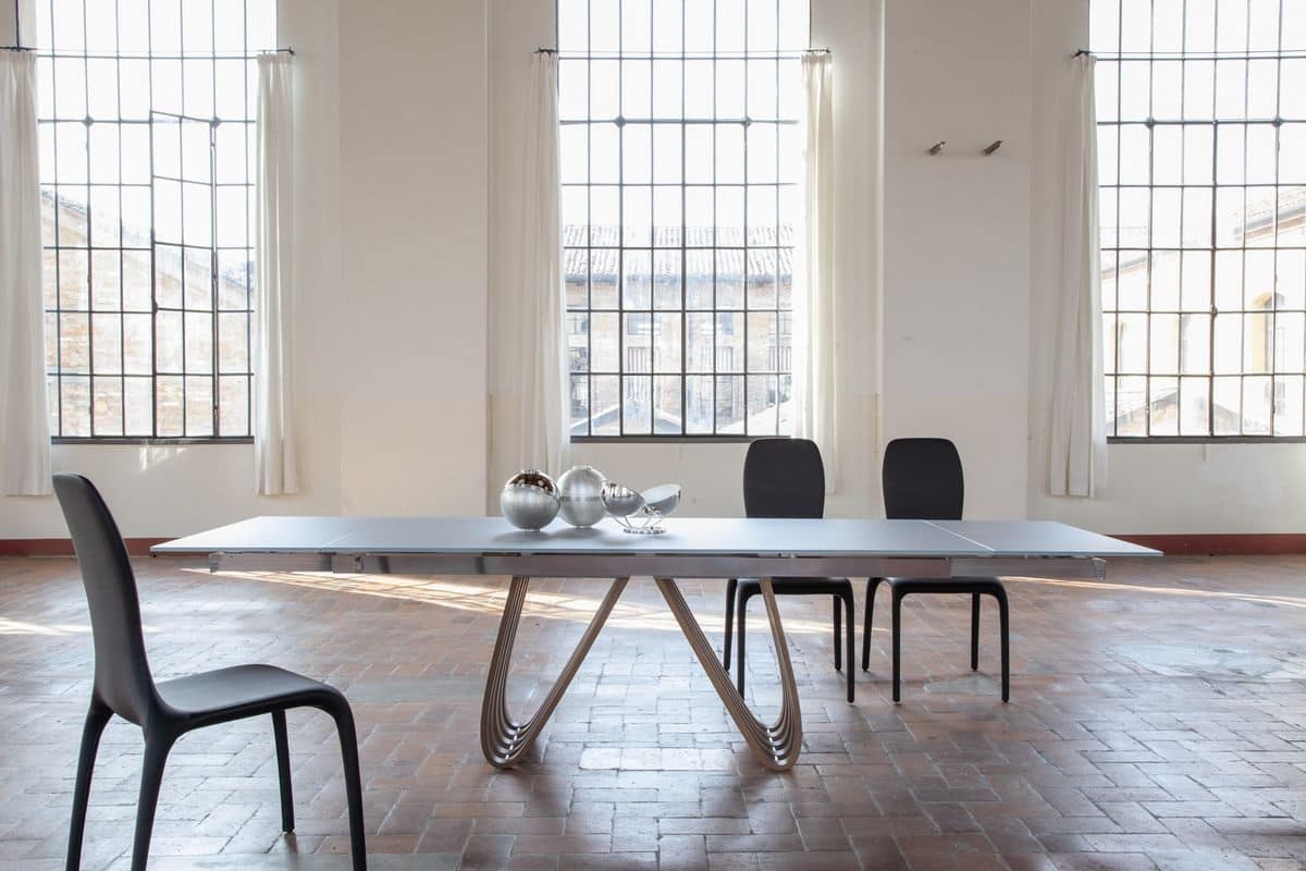 21 . HOME P11 Design Prodotti Tavoli Tavoli Allungabili Design Moderno  #586273 1200 800 Tavoli Da Pranzo Quadrati Moderni