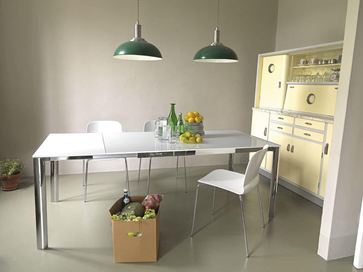 tavoli con piano antigraffio per cucina tavoli