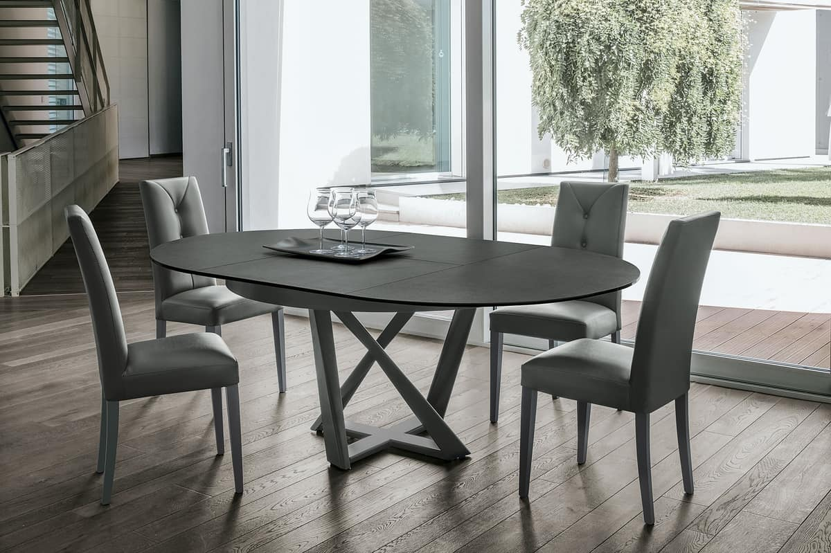 Tavolo tondo allungabile | IDFdesign
