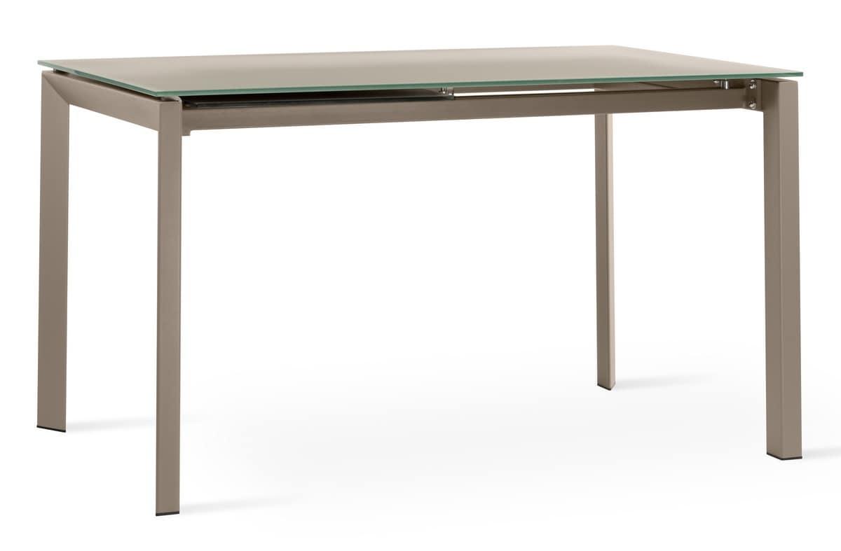 Tavolo moderno allungabile metro ozzio italia tavolo da for Tavolo eclipse di ozzio design
