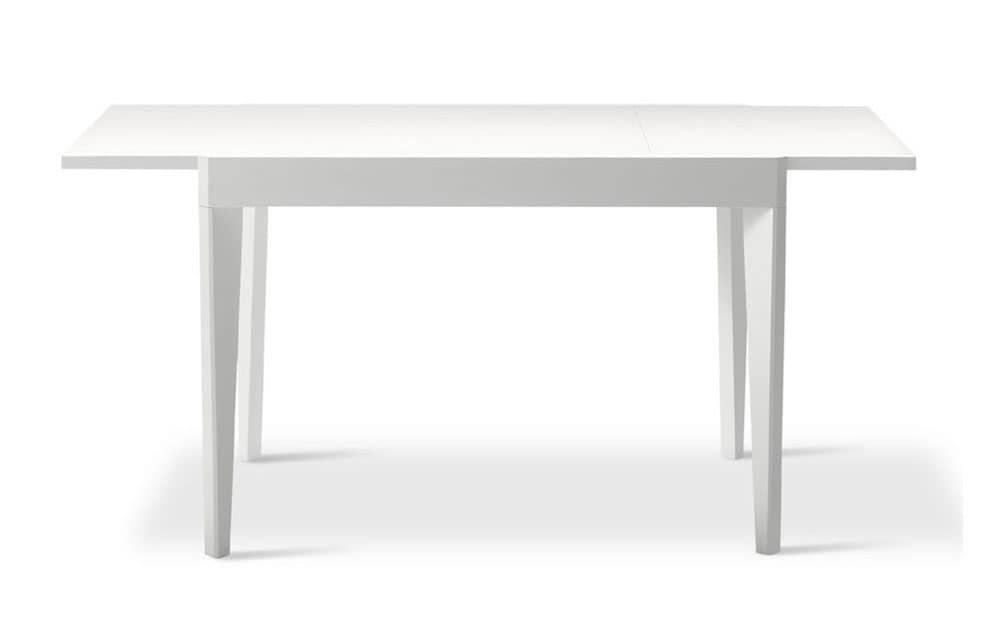 Tavolo allungabile lineare per sale da pranzo moderne idfdesign - Sale da pranzo moderne ...