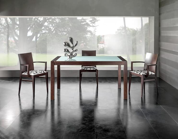 Matisse tavolo 8603t tavoli estensibili ristorante for Tavoli estensibili