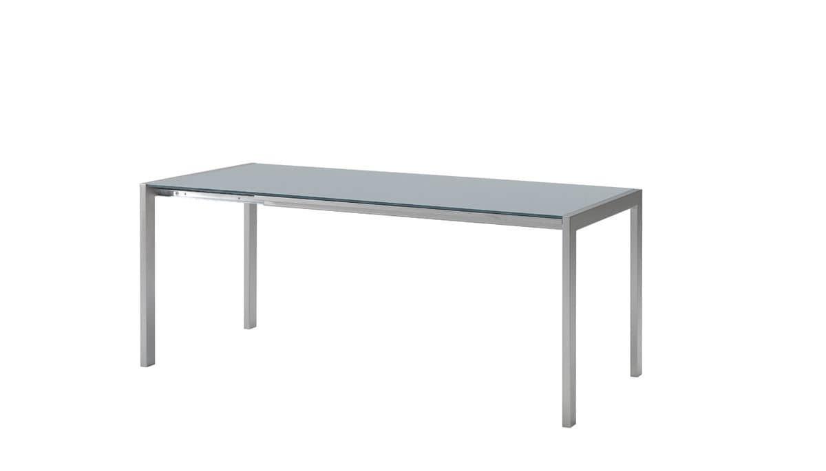 Tavolo allungabile vetro bond midj idee per il design for Tavoli contemporaneo design