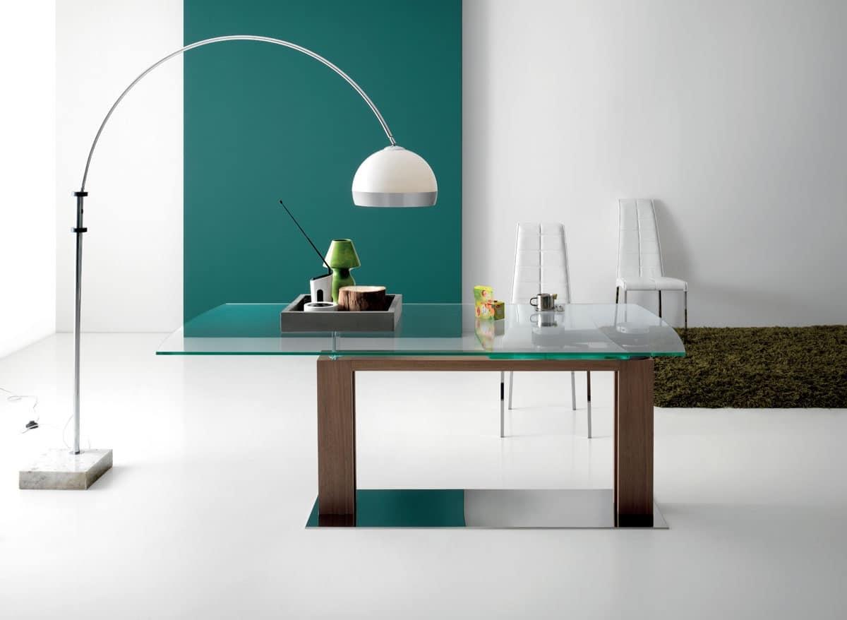 Tavoli da pranzo casa moderna idfdesign for Casa moderna rettangolare
