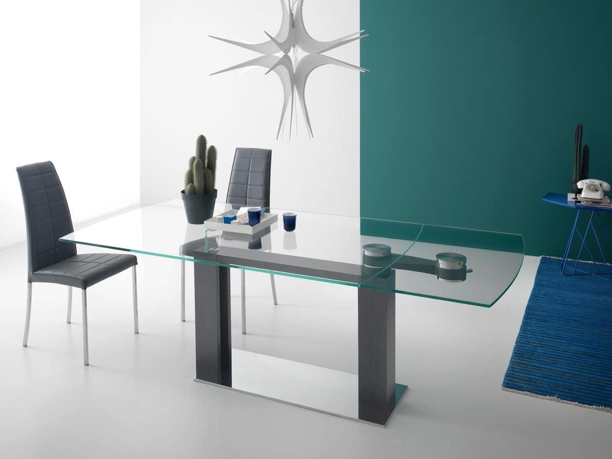 Tavoli da pranzo casa moderna idfdesign for Tavoli allungabili