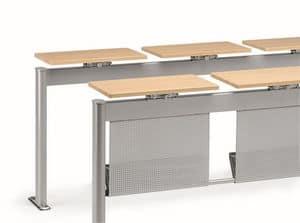 KOMPACT 880, Tavolo modulare in metallo, ideale per aule scolastiche