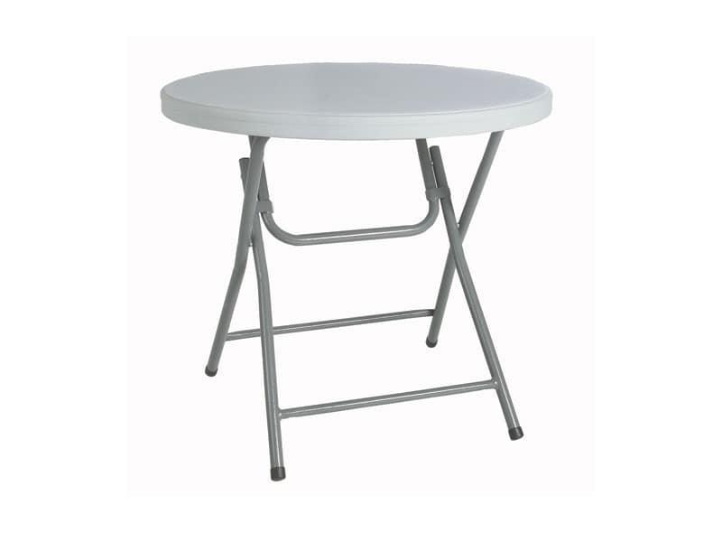 Tavoli struttura pieghevole sale pranzo idfdesign for Tavolo plastica pieghevole